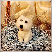 Куклы и игрушки ручной работы. Ярмарка Мастеров - ручная работа Вест Вайт терьер. Handmade.
