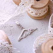Украшения handmade. Livemaster - original item Hanger, silver pendant. Handmade.