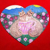 Фен-шуй и эзотерика ручной работы. Ярмарка Мастеров - ручная работа Талисман. Одно сердце на двоих. Handmade.