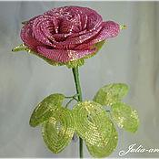 Цветы и флористика ручной работы. Ярмарка Мастеров - ручная работа Роза (розовая). Handmade.