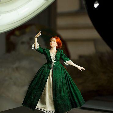 Куклы и игрушки ручной работы. Ярмарка Мастеров - ручная работа Айрин. Шарнирная кукла 1/12. Handmade.