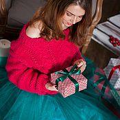 """Одежда ручной работы. Ярмарка Мастеров - ручная работа Вязаный свитер """"Элизабет"""" ручной работы. Handmade."""