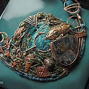 """Украшения ручной работы. Ярмарка Мастеров - ручная работа """"20000 Leagues Under the Sea"""" колье. Handmade."""