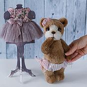 Куклы и игрушки ручной работы. Ярмарка Мастеров - ручная работа Мишка тедди Либби. Handmade.