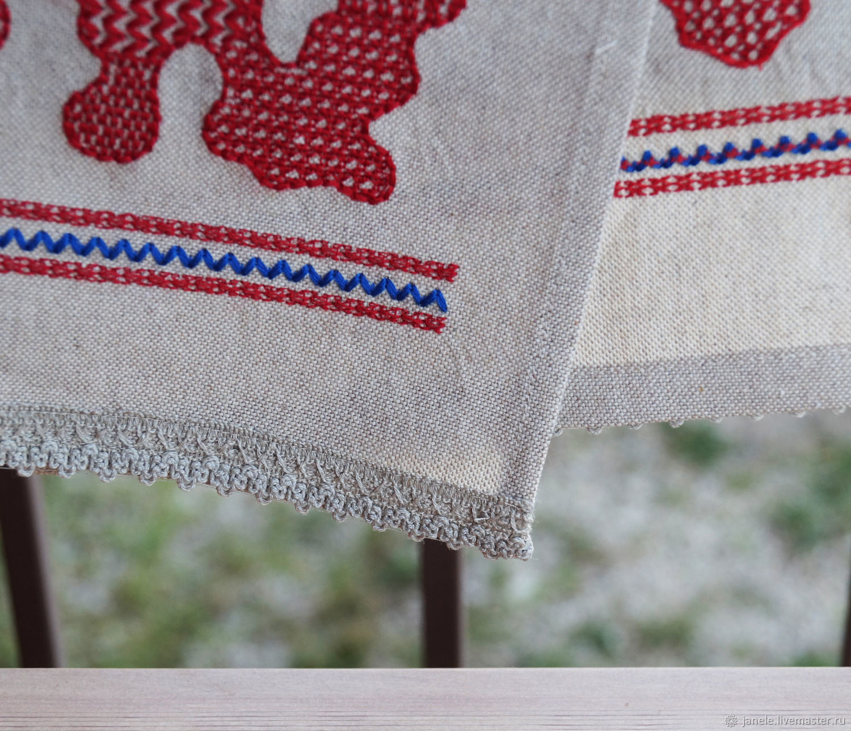 Чем украсить края вышивки