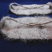Аксессуары handmade. Livemaster - original item Knitted knee-belts. Handmade.