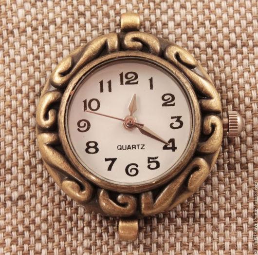 Для украшений ручной работы. Ярмарка Мастеров - ручная работа. Купить Основа для часов Узор, античная бронза (1шт). Handmade.