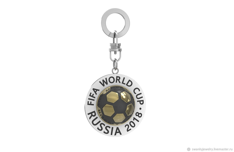 Брелок футбольный мяч