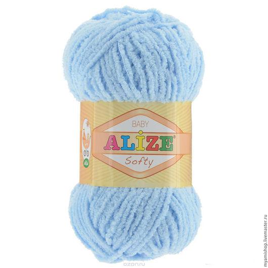 Вязание ручной работы. Ярмарка Мастеров - ручная работа. Купить Softy (Софти), Alize. Handmade. Рыжий, пряжа