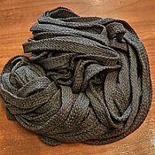 Шнуры ручной работы. Ярмарка Мастеров - ручная работа Шнурок серый. Handmade.
