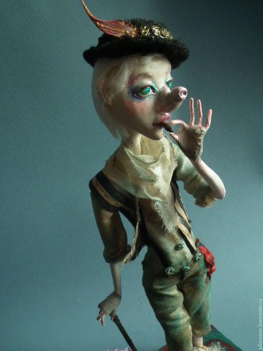 Коллекционные куклы ручной работы. Ярмарка Мастеров - ручная работа. Купить Айс из карнавала (на выставке до конца августа). Handmade.