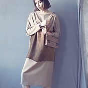 Одежда handmade. Livemaster - original item Dress loose oversize boxy fit. Handmade.