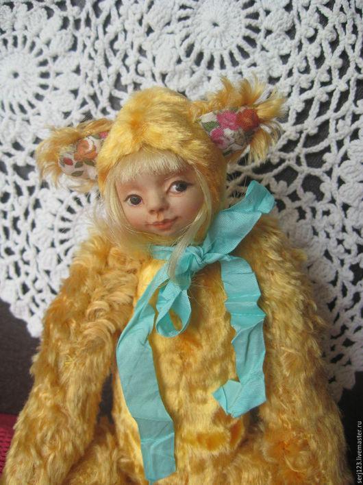 """Коллекционные куклы ручной работы. Ярмарка Мастеров - ручная работа. Купить Тедди - долл """" Лизонька """". Handmade."""