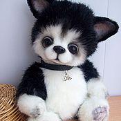 Куклы и игрушки ручной работы. Ярмарка Мастеров - ручная работа Амур,щенок хаски. Handmade.