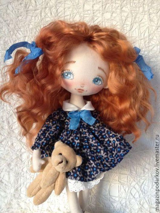 Коллекционные куклы ручной работы. Ярмарка Мастеров - ручная работа. Купить Кукла малышка Рита. Handmade. Рыжий, для дома и интерьера