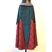 """Одежда ручной работы. Ярмарка Мастеров - ручная работа Юбка """"Самайн"""" бохо теплая. Handmade."""