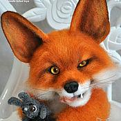 Куклы и игрушки ручной работы. Ярмарка Мастеров - ручная работа Лис Фокси. Handmade.