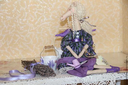 Куклы Тильды ручной работы. Ярмарка Мастеров - ручная работа. Купить Лавандовый Ангел. Handmade. Сиреневый, тильда кукла