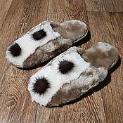 Slippers handmade. Livemaster - original item Slippers for women. Handmade.