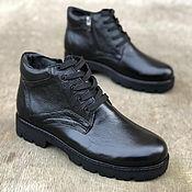Ботинки ручной работы. Ярмарка Мастеров - ручная работа Ботинки из натуральной кожи Обувь ручной работы. Handmade.