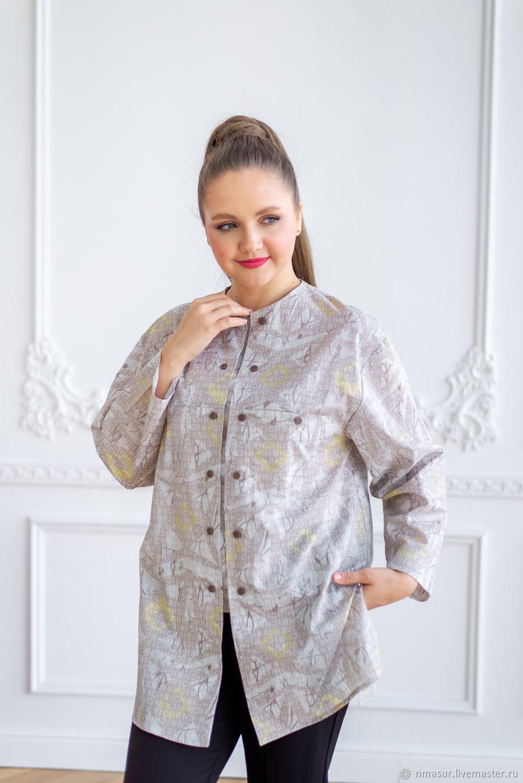 Блузка из Итальянского батиста размер Plus Size, Блузки, Новосибирск,  Фото №1