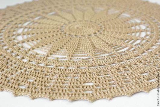 салфетка кружевная салфетка декоративная салфетка вязаная салфетка ажурная салфетка декор для интерьера