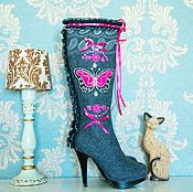 """Обувь ручной работы. Ярмарка Мастеров - ручная работа Валенки """"Розовые Мечты"""". Handmade."""