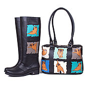 Обувь ручной работы handmade. Livemaster - original item Womens boots