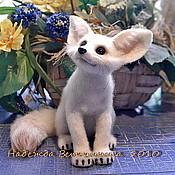 Куклы и игрушки ручной работы. Ярмарка Мастеров - ручная работа Фенёк -лисенок. Handmade.