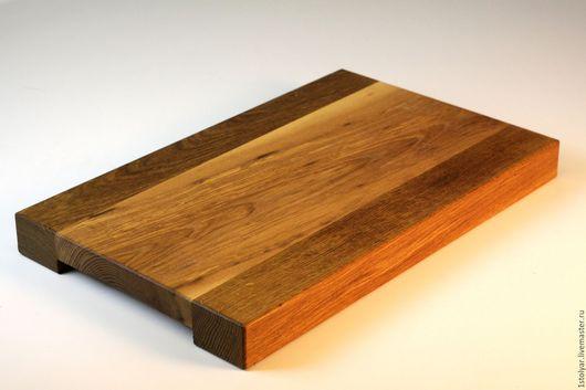 Кухня ручной работы. Ярмарка Мастеров - ручная работа. Купить Разделочная доска из дерева. Handmade. Комбинированный, подарок на любой случай