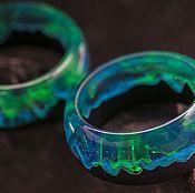 Украшения handmade. Livemaster - original item Wooden wedding / engagement rings