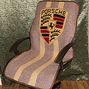 Сувениры и подарки ручной работы. Ярмарка Мастеров - ручная работа Накидка на сиденье в машину / офисное кресло. Handmade.