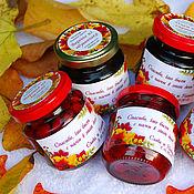 """Подарки к праздникам ручной работы. Ярмарка Мастеров - ручная работа """"Осень - Краса"""" Подарочные баночки бонбоньерки в подарок. Handmade."""