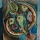 Шкатулки ручной работы. Большая шкатулка. Мастерская ,,Краски-Елки,,. Интернет-магазин Ярмарка Мастеров. Подарок девушке, интерьерное украшение
