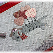 Сумки и аксессуары handmade. Livemaster - original item Flying Dachshund Folder. Handmade.