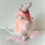 Для дома и интерьера handmade. Livemaster - original item Zosia the rat in the vest. Handmade.