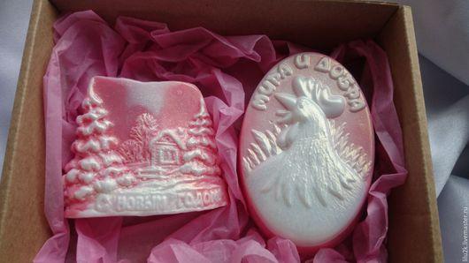 Новогодний набор мыла