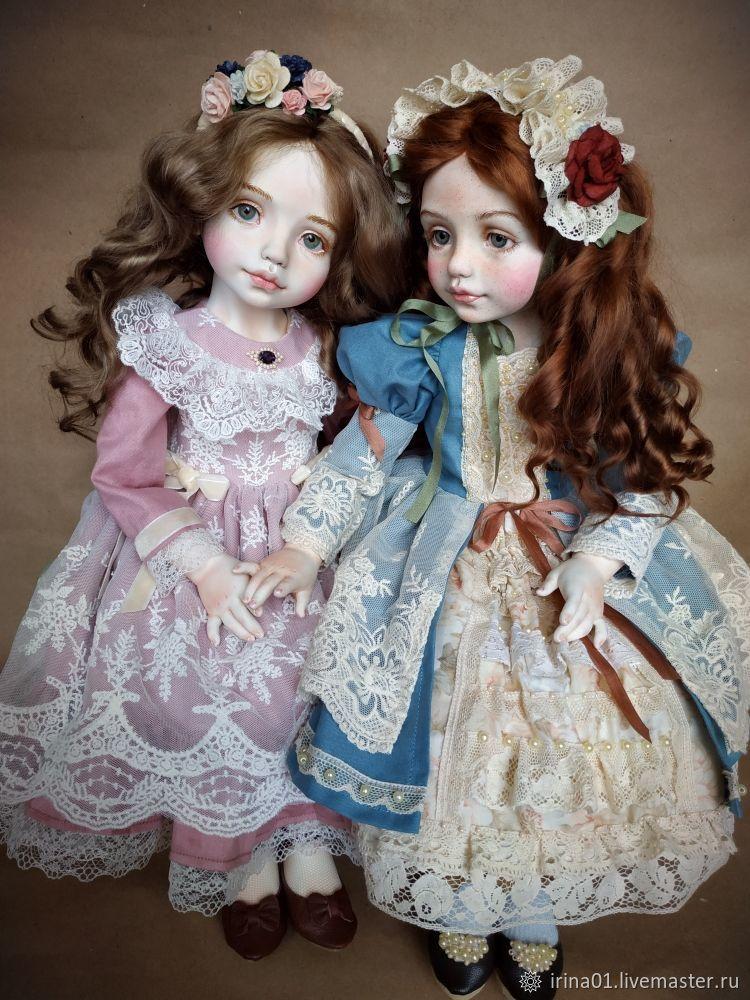 """,,Сестрёнки"""", Шарнирная кукла, Астрахань,  Фото №1"""