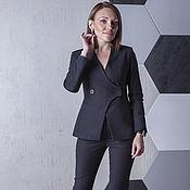 Одежда handmade. Livemaster - original item THE LATEST BLACK RIDER Costume is matte! cotton. Handmade.