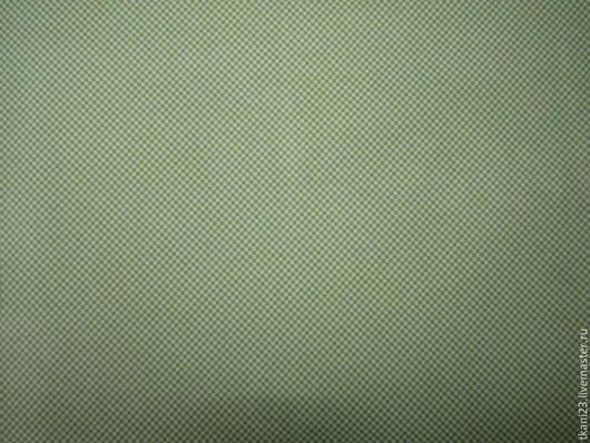 Шитье ручной работы. Ярмарка Мастеров - ручная работа. Купить Ткань сорочечная арт.79КТЦ-4 (Турция). Handmade. Салатовый