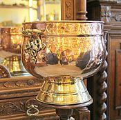 Для дома и интерьера ручной работы. Ярмарка Мастеров - ручная работа кашпо большое медь латунь европа. Handmade.