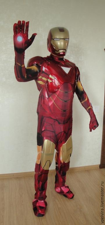 Железный человек 3 костюмы