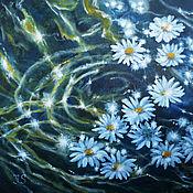 """Картины и панно ручной работы. Ярмарка Мастеров - ручная работа Картина """"Цветочный водоворот"""". Handmade."""