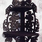 Для дома и интерьера ручной работы. Ярмарка Мастеров - ручная работа Полка Листья №1102. Handmade.
