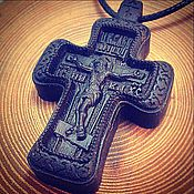 Украшения handmade. Livemaster - original item Carved cross. Handmade.