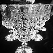 Свадебный салон handmade. Livemaster - original item A set of glasses for fortified wines and liqueurs