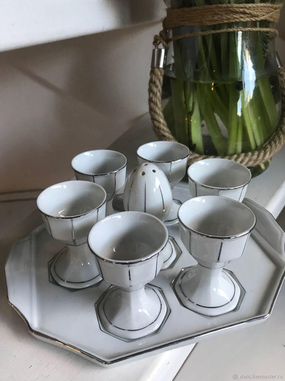 Set of porcelain 'Easter', Czechoslovakia, rarity!, Vintage interior, Arnhem,  Фото №1