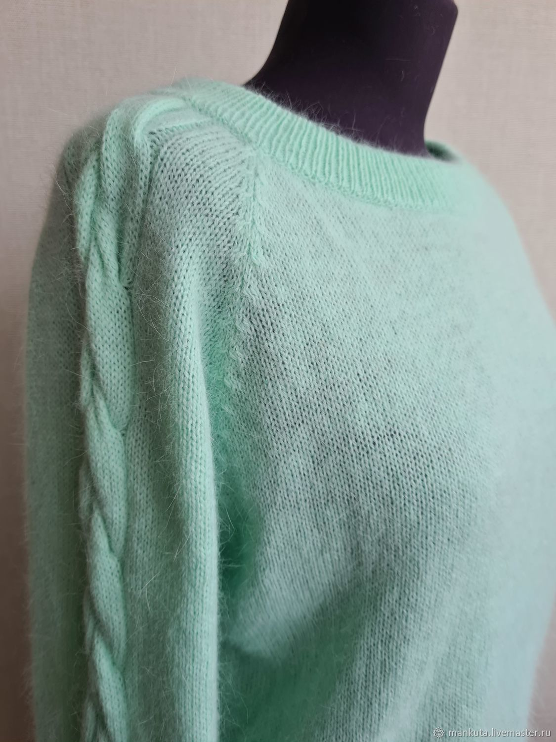 Mint-colored blouse, Sweater Jackets, Moscow,  Фото №1
