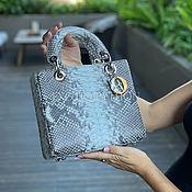Сумки и аксессуары handmade. Livemaster - original item Elegant bag made of Python skin. Handmade.