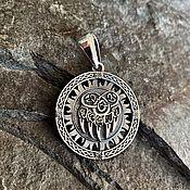 Украшения handmade. Livemaster - original item Seal of Veles-paw of the bear (turnover of the hall). Handmade.